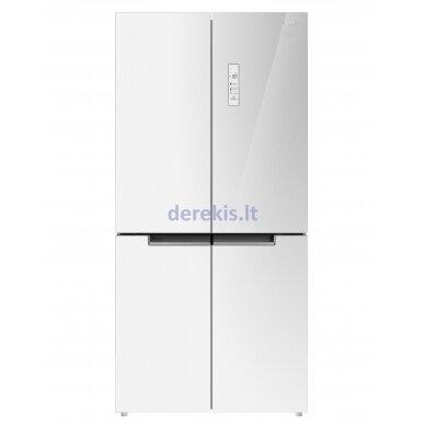 Dviduris šaldytuvas Daewoo RMM700WGW