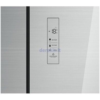 Dviduris šaldytuvas Daewoo RMM700SIW 3