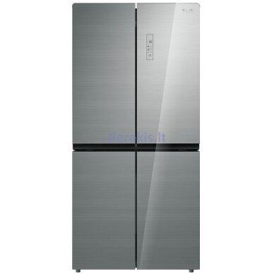 Dviduris šaldytuvas Daewoo RMM700SIW
