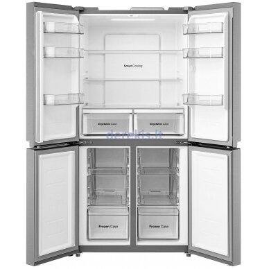 Dviduris šaldytuvas Daewoo RMM700SIW 2