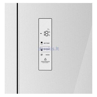 Dviduris šaldytuvas Daewoo RMM700WGW 2