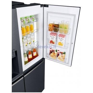 Dviduris šaldytuvas LG GSJ761MCUZ 4