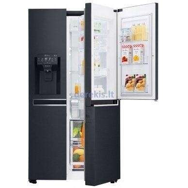 Dviduris šaldytuvas LG GSJ761MCUZ 5
