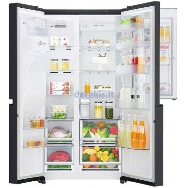 Dviduris šaldytuvas LG GSJ761MCUZ 6