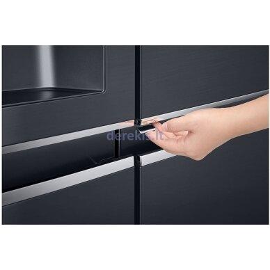 Dviduris šaldytuvas LG GSJ761MCUZ 7