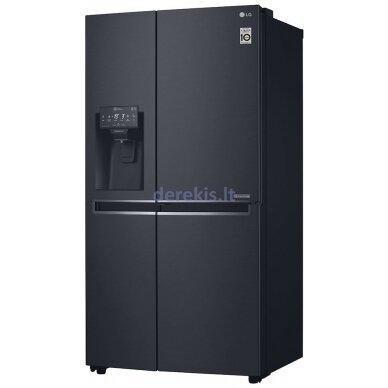 Dviduris šaldytuvas LG GSJ761MCUZ 2