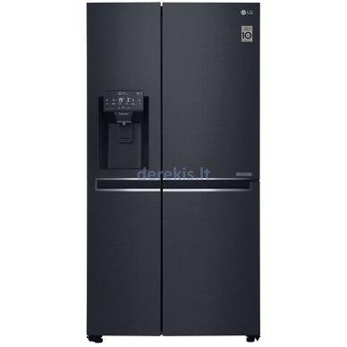Dviduris šaldytuvas LG GSJ761MCUZ