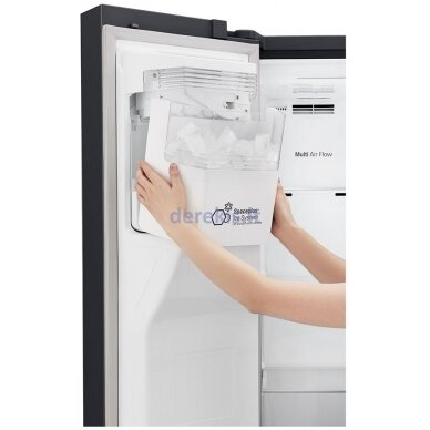 Dviduris šaldytuvas LG GSJ761MCUZ 3