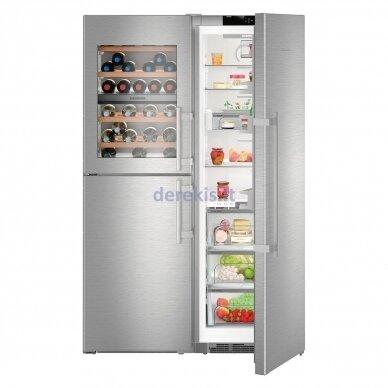 Dviduris šaldytuvas Liebherr SBSes 8496 (modelių SWTNes 4285 + SKBes 4380 komplektas)