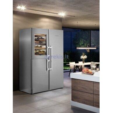 Dviduris šaldytuvas Liebherr SBSes 8496 (modelių SWTNes 4285 + SKBes 4380 komplektas) 4
