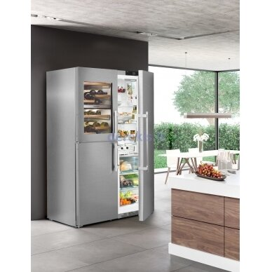 Dviduris šaldytuvas Liebherr SBSes 8496 (modelių SWTNes 4285 + SKBes 4380 komplektas) 5