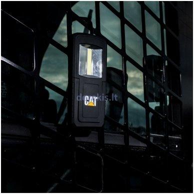 Dviejų spindulių darbinis COB LED prožektorius CAT CT3510 11