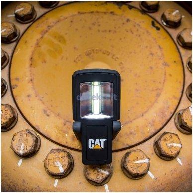 Dviejų spindulių darbinis COB LED prožektorius CAT CT3510 8