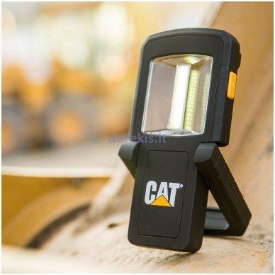 Dviejų spindulių darbinis COB LED prožektorius CAT CT3510 10