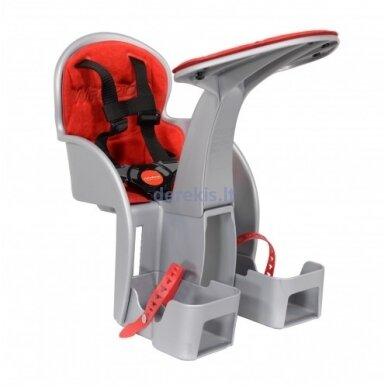 Dviračio kėdutė WeeRide SAFE FRONT CLASSIC RED