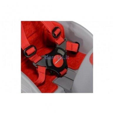 Dviračio kėdutė WeeRide SAFE FRONT CLASSIC RED 4