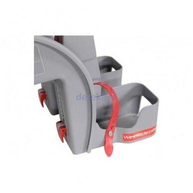 Dviračio kėdutė WeeRide SAFE FRONT CLASSIC RED 5
