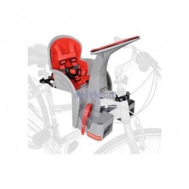 Dviračio kėdutė WeeRide SAFE FRONT CLASSIC RED 2