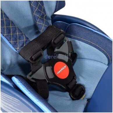Dviračio kėdutė WeeRide SAFE FRONT DELUXE DENIM 3