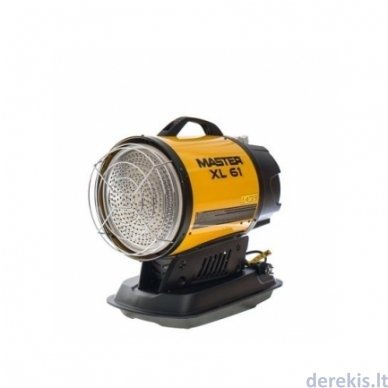 Dyzelinis infraraudonųjų spindulių šildytuvas MASTER XL 61 2