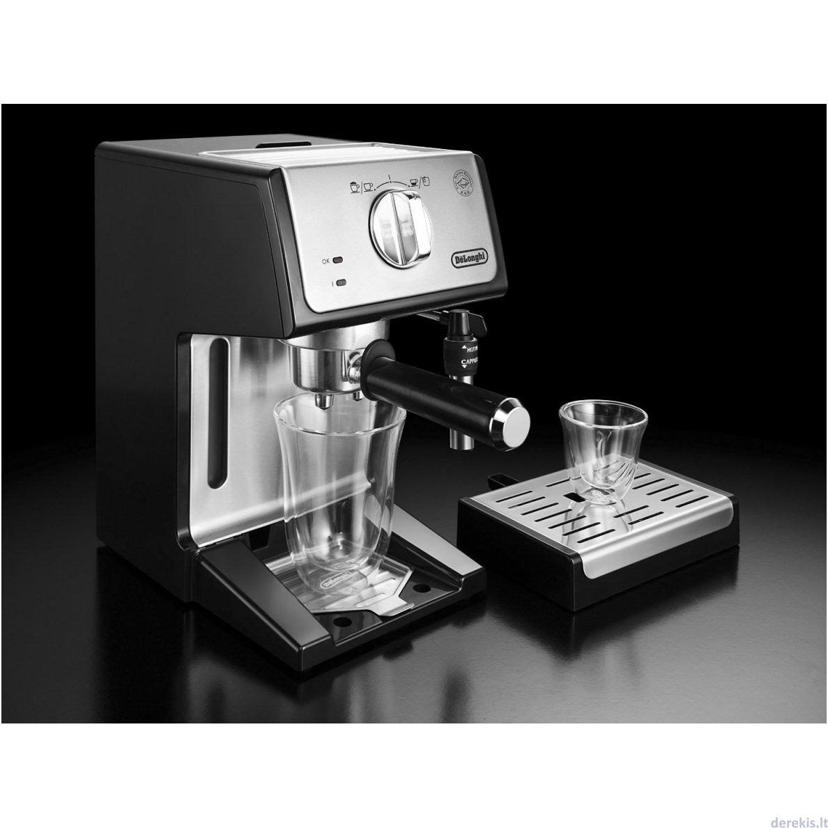 Delonghi Ecp35 31 Coffee Maker Hitam Referensi Daftar Harga Ec680 R Merah Dan Ecp3531