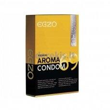 Egzo Aroma prezervatyvai (3 vnt)