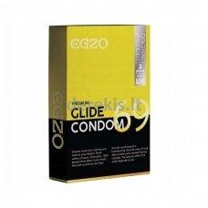 Egzo Glide prezervatyvai (3 vnt)