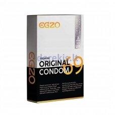Egzo Original prezervatyvai (3 vnt)