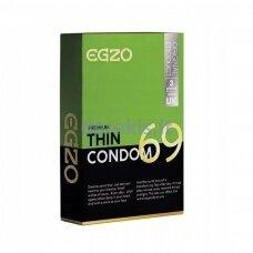 Egzo Thin prezervatyvai (3 vnt)