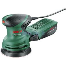 "Ekscentrinis šlifuoklis Bosch PEX 220 A 0603378020 (""Bosch"" mikrofiltras)"