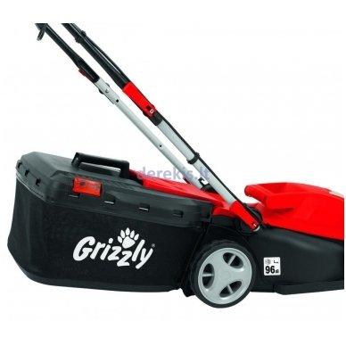 Elektrinė vejapjovė 1400W Grizzly ERM 1434-3, 72050008 5