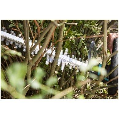 Elektrinės gyvatvorių žirklės Gardena ComfortCut 600/55, 9834-20 (967079401) 7