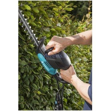 Elektrinės gyvatvorių žirklės Gardena EasyCut 500/55, 9832-20 (967608401) 3