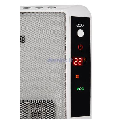 Elektrinis šildytuvas ECG KT200DT baltas 2