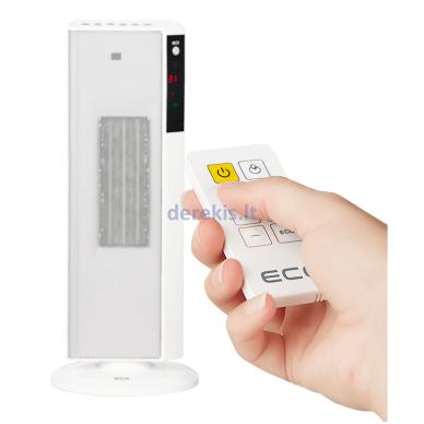 Elektrinis šildytuvas ECG KT200DT baltas 6