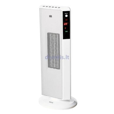 Elektrinis šildytuvas ECG KT200DT baltas