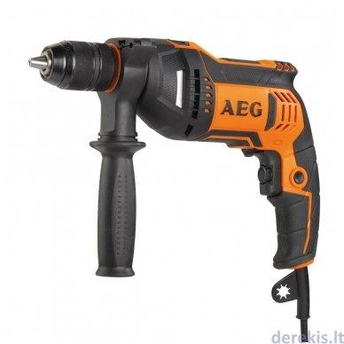 Elektrinis smūginis gręžtuvas AEG SBE705RE, 4935442830