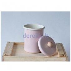 Emaliuotas indas biriems produktams BEMUS (rožinė)