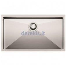 Įmontuojama nerūdijančio plieno virtuvinė plautuvė AQUASANITA ENN100B