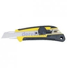 Extra heavy duty cutter with comfort-grip handle 25 mm and dial blade lock