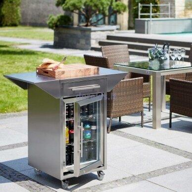 Gėrimų šaldytuvas - spintelė Caso Barbecue - Counter & Cool 5