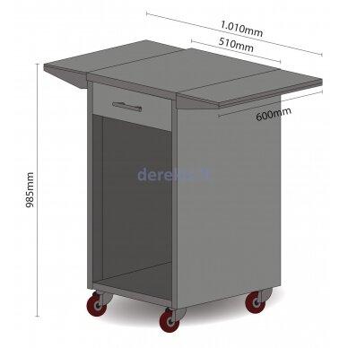 Gėrimų šaldytuvas - spintelė Caso Barbecue - Counter & Cool 6