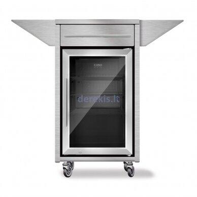 Gėrimų šaldytuvas - spintelė Caso Barbecue - Counter & Cool