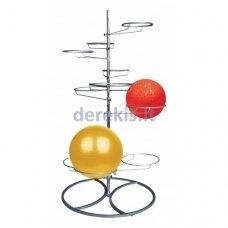 Gimnastikos kamuolių stovas Tunturi 14TUSFU132