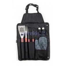 Grilio įrankių komplektas pakabinamoje kišenėje G21 635399