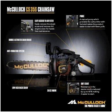 Grandininis pjūklas Mcculoh CS 35S, 967624714 5