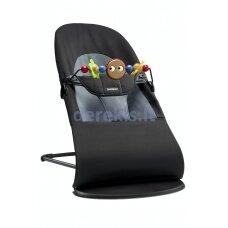 BABYBJÖRN Bundles Bouncer and Toy, Black 605001