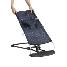BABYBJÖRN  Fabric Seat Bouncer Bliss - Mesh, Navy Blue 012003