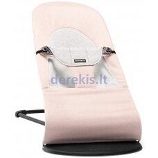 BabyBjorn Bouncer Balance Soft Cotton/Jersey, Light pink/Grey 005089
