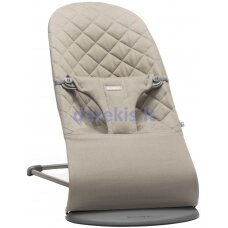 BabyBjorn Bouncer Bliss, Cotton, Sand Grey 006017